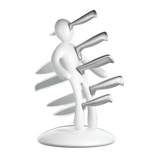 The Ex Knife Holder, 2nd Edition, White