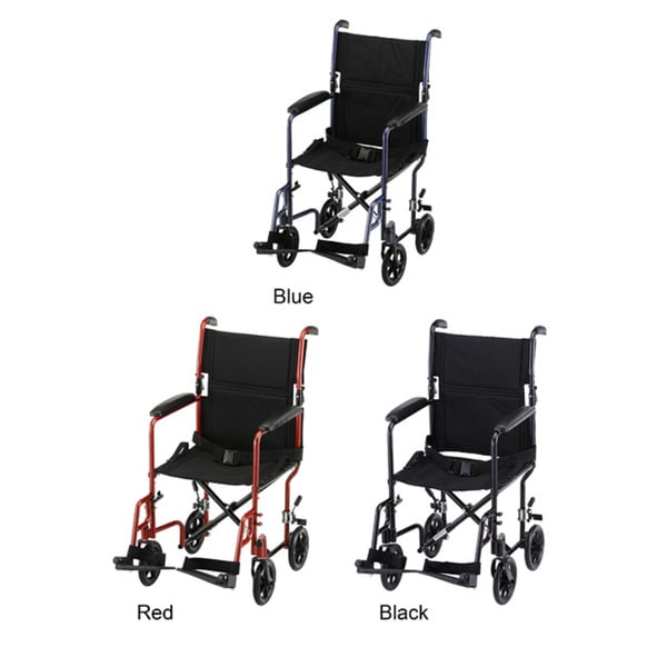 Nova Steel 19-inch Steel Transport Chair