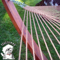 Phat Tommy Handwoven Soft Wide Hammock - Thumbnail 1