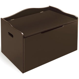 Badger Basket Espresso Finish Bench Top Toy Chest