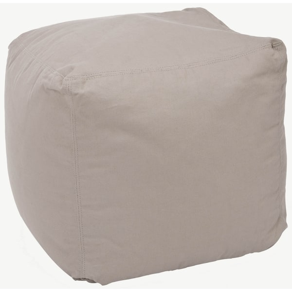 Superb Safavieh Square Poof Beige Bean Bag Bralicious Painted Fabric Chair Ideas Braliciousco