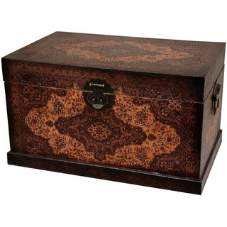 Handmade Olde-Worlde Baroque Storage Box (China)