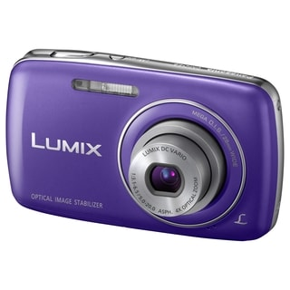 Panasonic Lumix DMC-S3 14.1 Megapixel Compact Camera - Blue