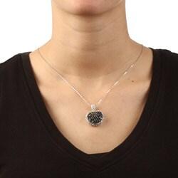 La Preciosa Sterling Silver CZ Heart Necklace - Thumbnail 2