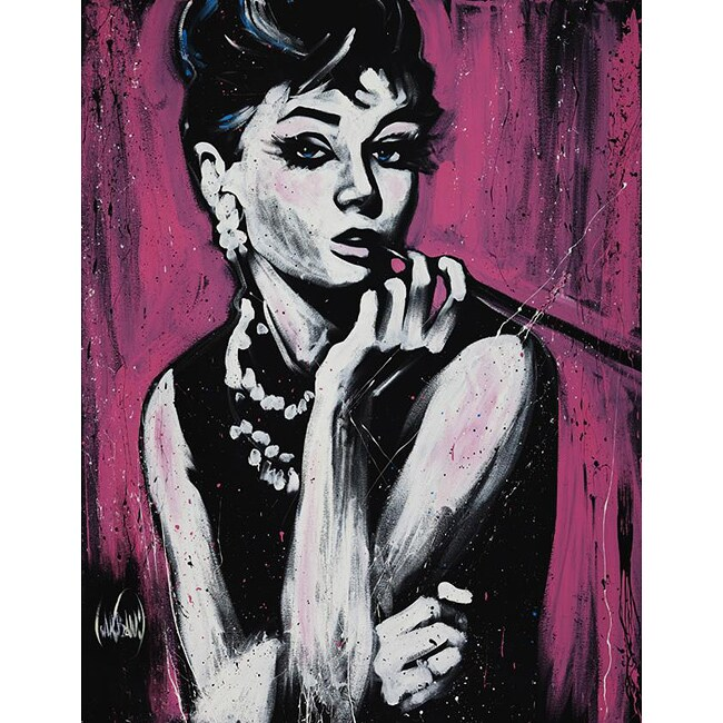 David Garibaldi Hepburn Fabulous Gallery-wrapped Canvas Art