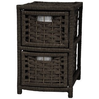 Natural Fiber 2-drawer Occasional Chest (China)