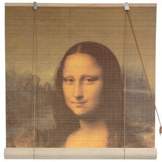 Handmade Bamboo 'Mona Lisa' Window Blinds (24-in x 72-in) (China)