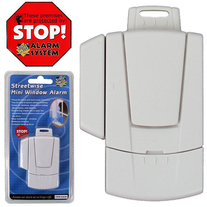 Mini Wireless Window Alarm (Pack of 2)