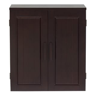Covington Dark Birch Wall Cabinet by Elegant Home Fashions