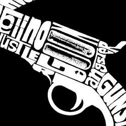 Los Angeles Pop Art Women's 'Pistols' Tank Top