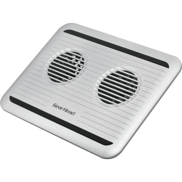 Gear Head CF3100SLV Dual-Cool II Notebook Cooling Stand