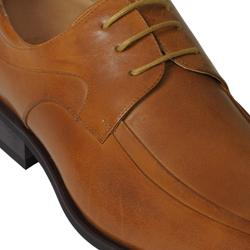 Boston Traveler Men's Square Leather Oxfords - Thumbnail 2