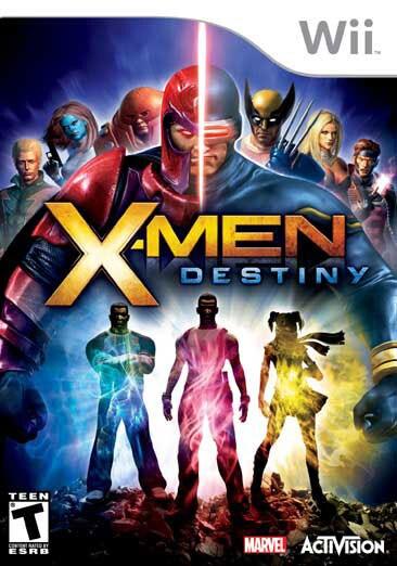 Wii - X-Men: Destiny - By Activision