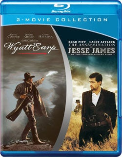 Wyatt Earp/The Assassination of Jesse James by the Coward Robert Ford (Blu-ray Disc)