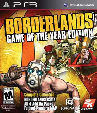 PS3 - Borderlands GotA Edition