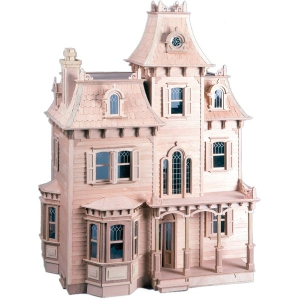 The Beacon Hill Dollhouse Kit Free Shipping Today