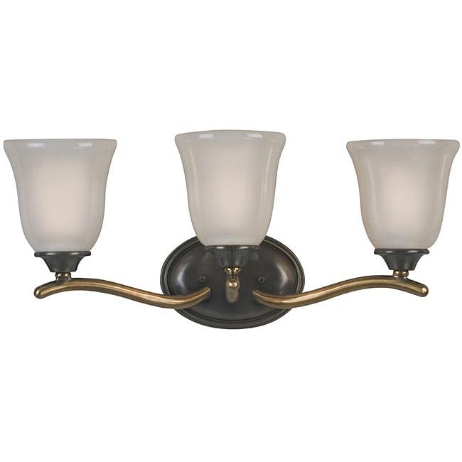 Olde Bronze 3-light Vanity Fixture