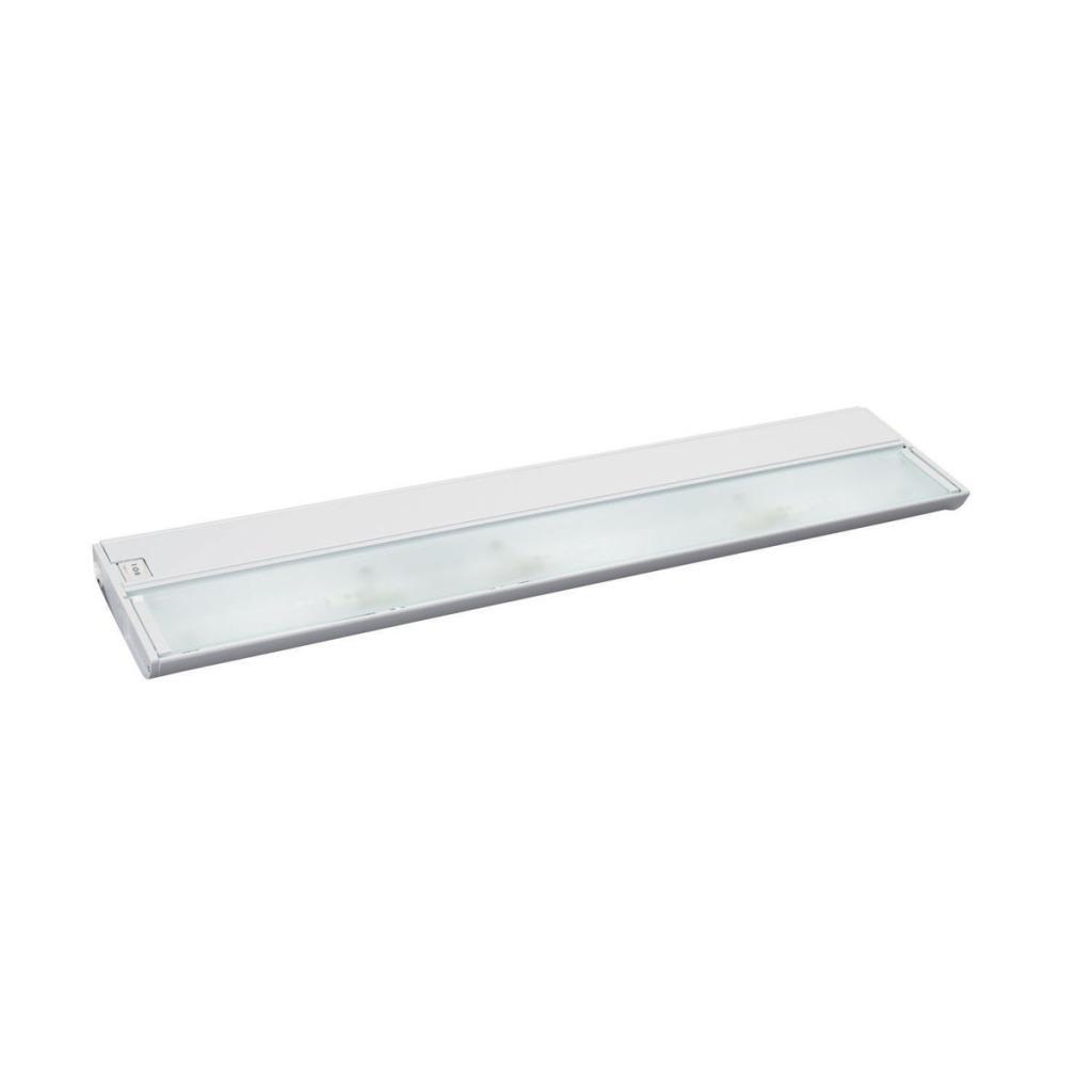 White Undercabinet Xenon 3-light Fixture