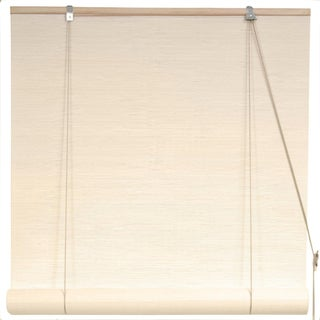 Bamboo 24-inch White Window Blinds (China)