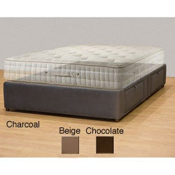 Tiffany 4-drawer Queen Platform Bed/ Storage Mattress Box