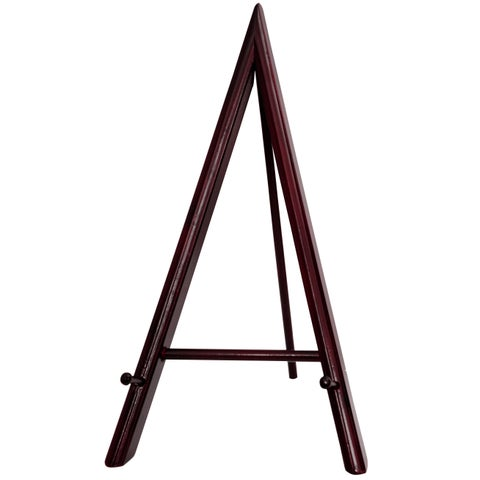 Hand-crafted Kiln-dried-rosewood 20-inch Art Display Easel (China)