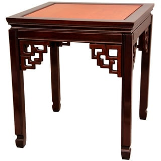Handmade Rosewood Two-tone Square Ming Table (China)