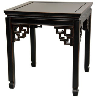 Rosewood Antique Black Square Ming Table (China)