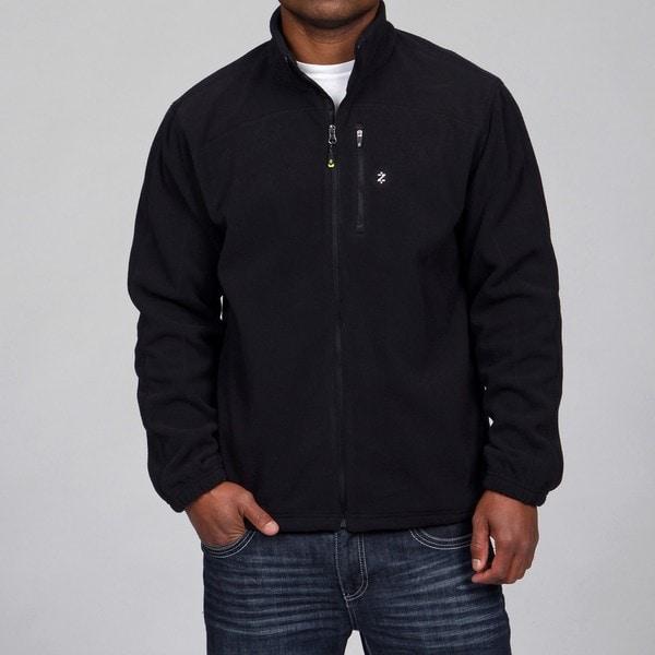 Izod Men's Fleece Zip-up Jacket - Free Shipping On Orders Over $45 ...