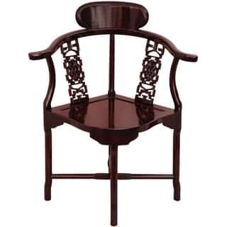 Handmade Rosewood Corner Chair (China)|https://ak1.ostkcdn.com/images/products/5698555/P13439161.jpg?impolicy=medium