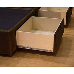 Tiffany 4-drawer King Platform Bed/ Storage Mattress Box - Thumbnail 2