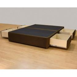 Tiffany 4-drawer California King Bed/ Storage Mattress Box - Thumbnail 2