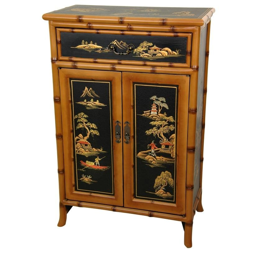 Contemporary Normandie 945: Shop Handmade Wooden 36-inch Ching Shoe Cabinet (China