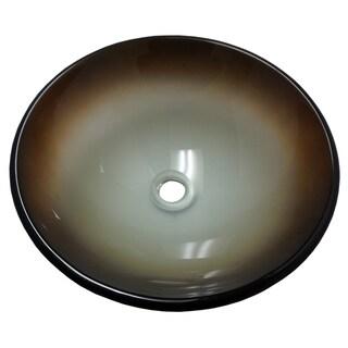 La Terra Glass Vessel Bathroom Sink
