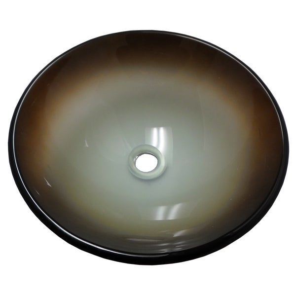 La Terra Glass Vessel Bathroom Sink