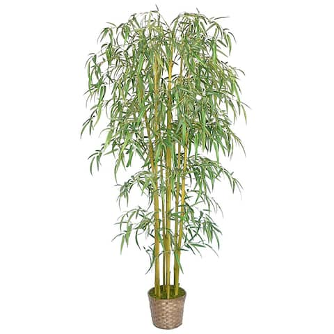 "Vintage Home Realistic Bamboo Tree - 73"" Tall"