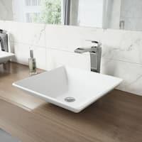 VIGO Blackstonian Bathroom Vessel Faucet in Chrome