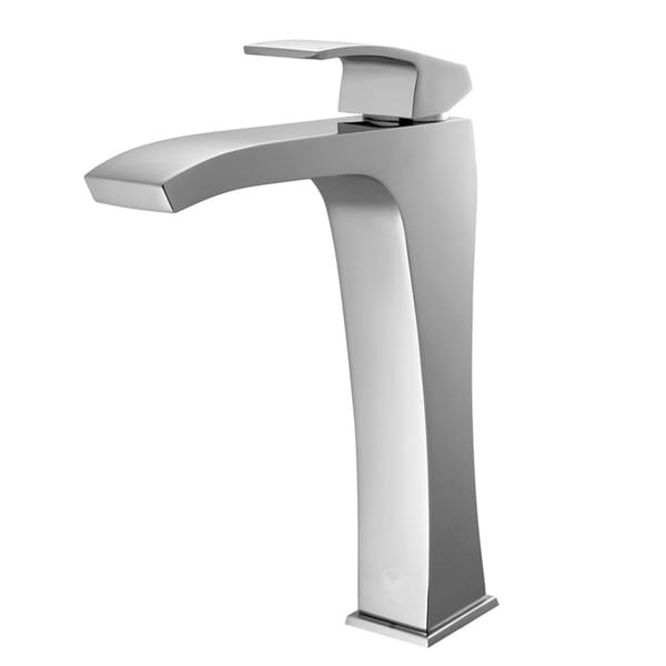 VIGO Blackstonian Chrome Finish Vessel Faucet