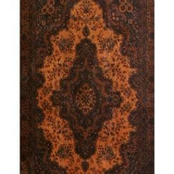 Handmade Faux Leather 6-foot Olde-Worlde Classical Room Divider (China) - Thumbnail 1