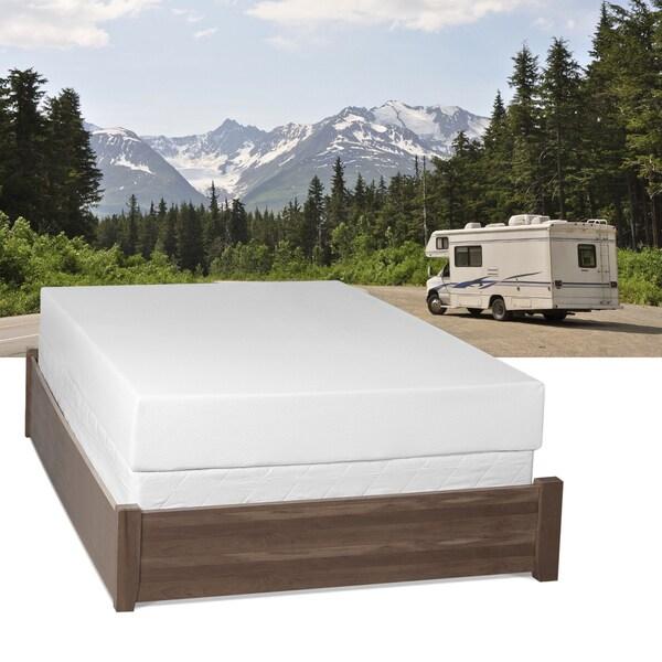 Select Luxury Home RV 8-inch Full-size Memory Foam Mattress