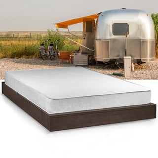 Select Luxury Home RV 8-inch Full Short-size Memory Foam Mattress - WHITE