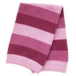 Warm Lavender Striped Baby Leg Warmers - Thumbnail 1