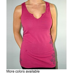 Institute Liberal Women's Notched Scoop Neck Tank Top
