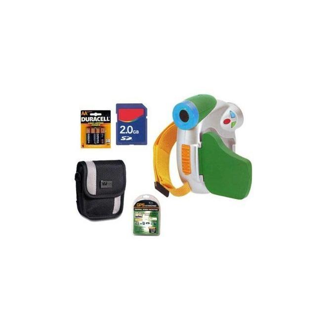 Sakar Digital Concepts Crayola Green Digital Camcorder Kit