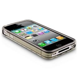TPU Rubber Skin Case for Apple iPhone 4 - Thumbnail 1