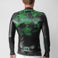 Jet Pilot Men's F35 Flight Neoprene Wetsuit Top