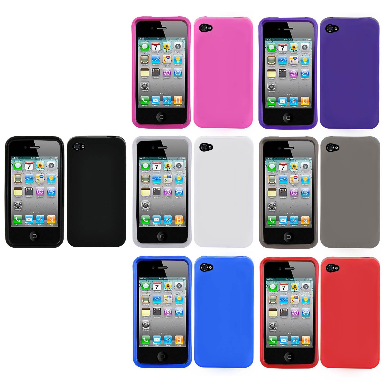 Apple iPhone 4 Premium TPU Rubber Skin Case