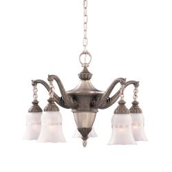 Tuscan Gold 5-light Chandelier - Thumbnail 1
