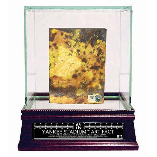 Steiner Sports Yankee Stadium Foul Pole Piece w/ Glass Display Case