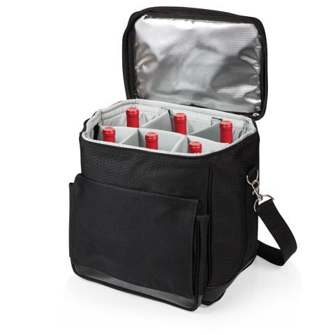 Picnic Time 6-bottle Insulated Cellar