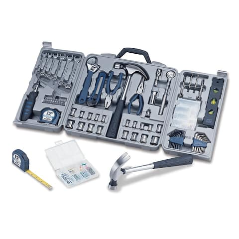 Professional Deluxe Tool Kit with Carrying Case